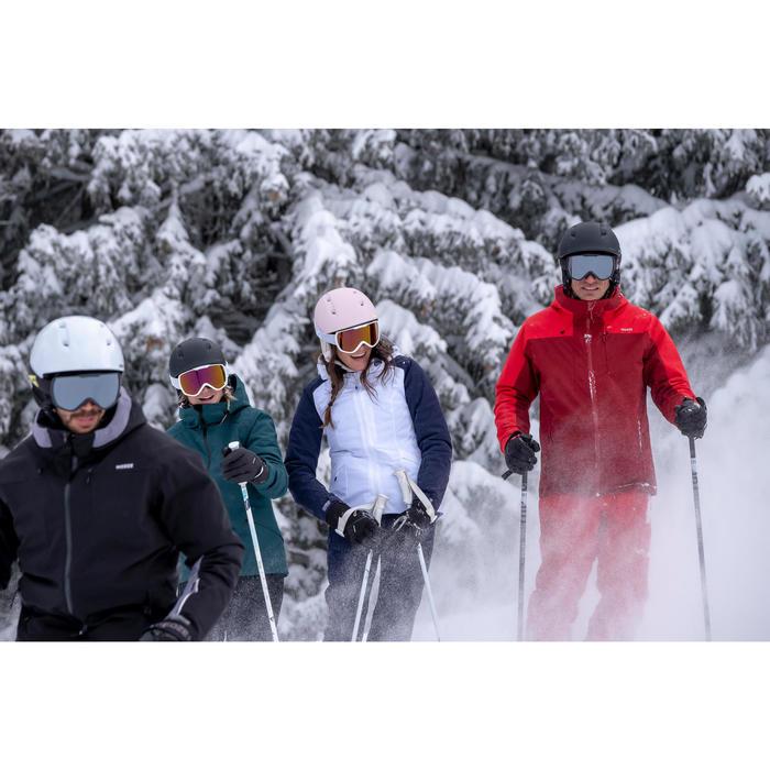 Skibroek voor pisteskiën dames 580 wit
