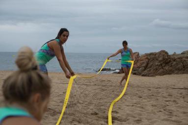 comment monter son filet de beach-volley BV900?