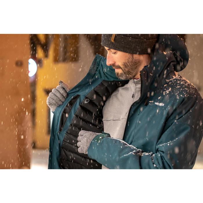 Waterdichte ski-jas voor dames 500 wit winterjas