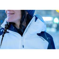 Winterjas heren ski waterdicht 500 H groen