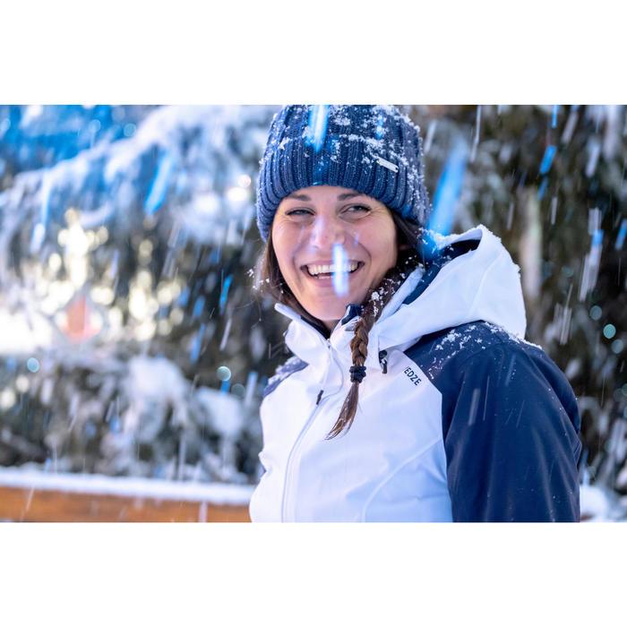 Ski-jas voor pisteskiën dames 500 wit