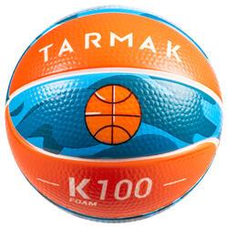K100 Schaumstoff Mini-Basketball Schaumstoff Gr.1 Für Kinder bis 4 Jahren.