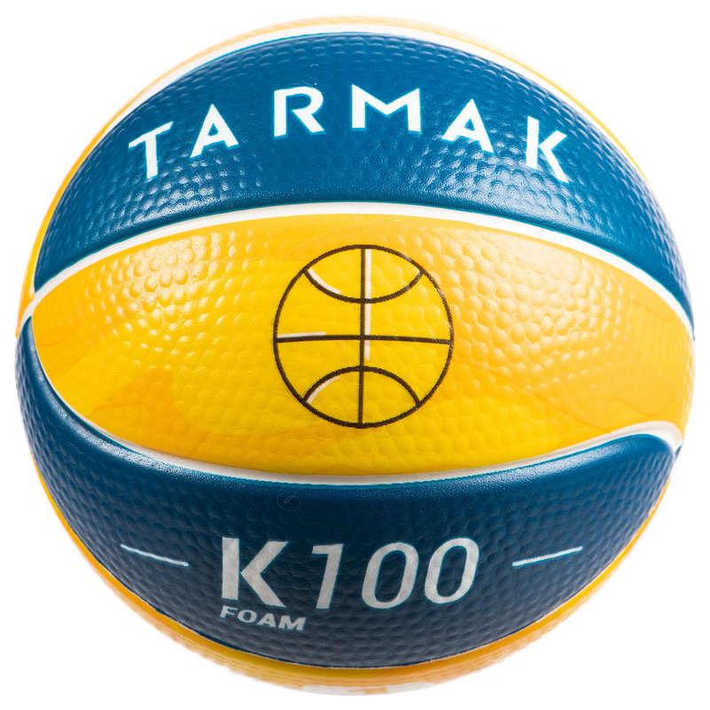 PANIERS & BALLONS BASKETBALL DECOUVERTE Sport di squadra - Mini-pallone in schiuma K100 TARMAK - Palloni e accessori basket