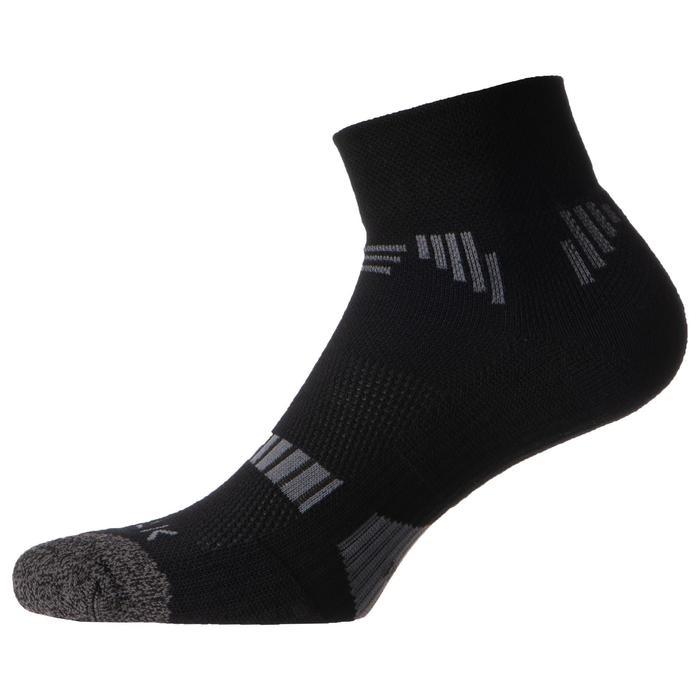 2雙入男女通用款低筒籃球襪SO500-黑色