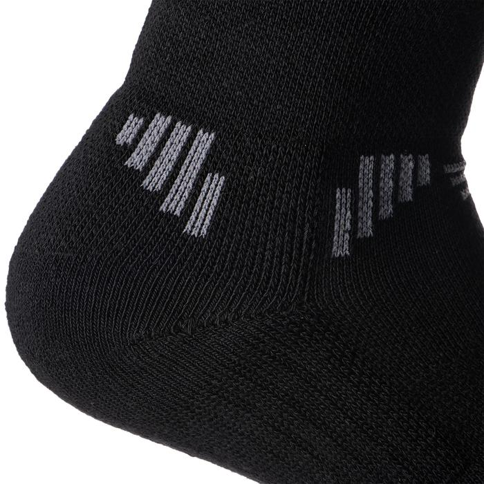 Men's/Women's Low-Rise Basketball Socks 2-Pack SO500 - Black