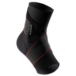 Strong 100 Men's/Women's Right/Left Ankle Ligament Support - Black