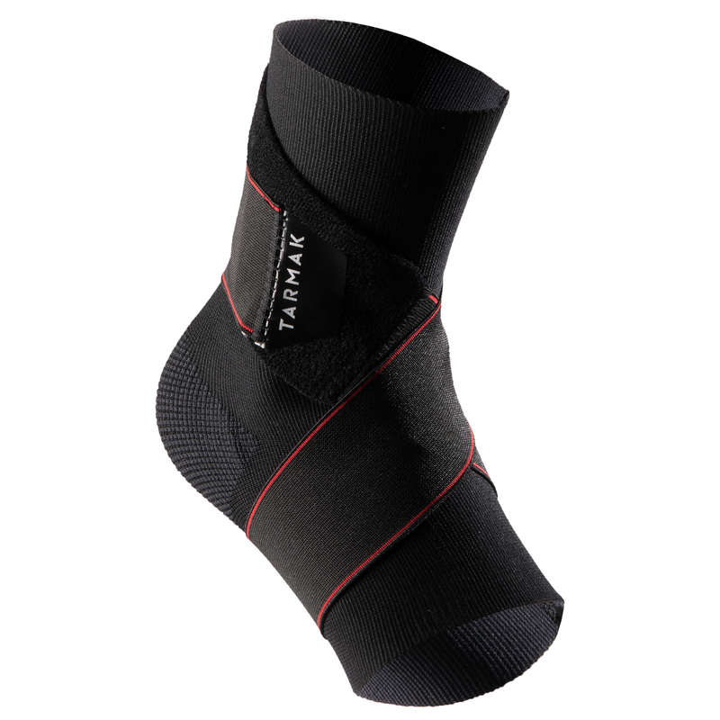 JOINT / MUSCLE SUPPORTS Basketball - Strong 100 Ankle Support Black TARMAK - Basketball