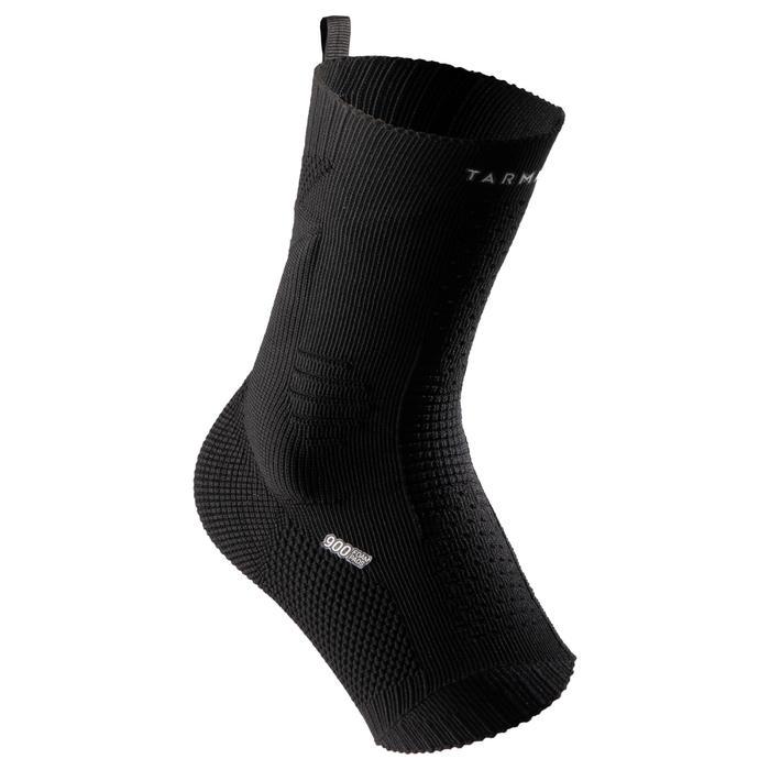 Linker/rechter enkelbrace proprioceptief voor heren/dames Soft 900 zwart