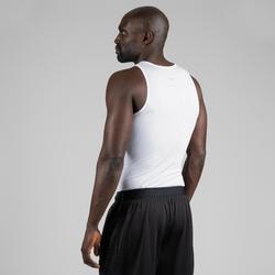 Sous-maillot respirant Basketball sans manches homme UT500 Blanc