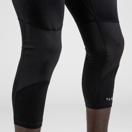 Men's Base Layer Capri Basketball Leggings - Black