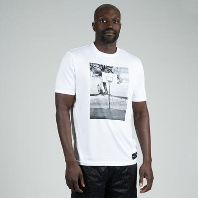 Men's Basketball T-Shirt / Jersey TS500 - White Photo