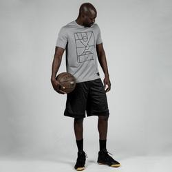 籃球上衣TS500-淺灰色/Playground款