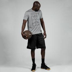 Jersey Basket Playground TS500 - Abu-abu Terang