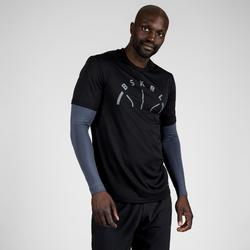 Men's Basketball T-Shirt with Built-In Sleeves 900 - Black BSKBL