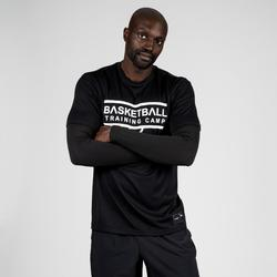 Basketballshirt 900 Herren mit Armlingen schwarz