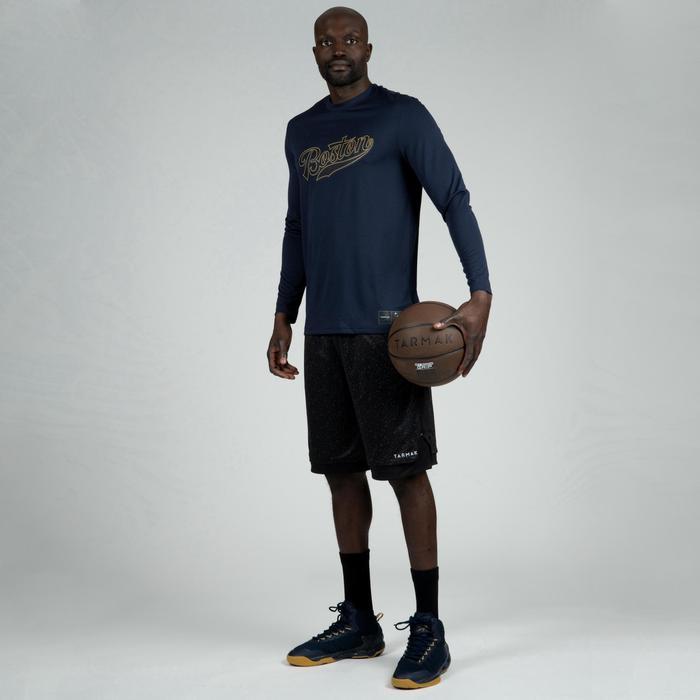 Basketball Jersey Long-Sleeved - Boston/Dark Blue
