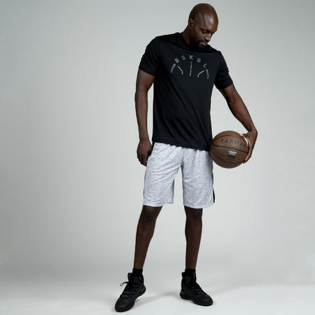 Men's Basketball T-Shirt / Jersey TS500 - Black BSKBL