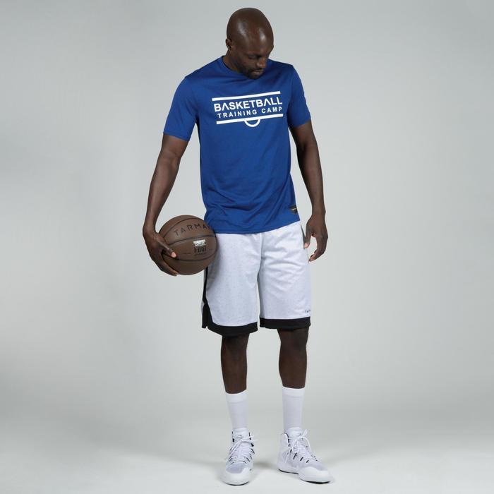 Camiseta de baloncesto TS500 Hombre azul marino Shoot