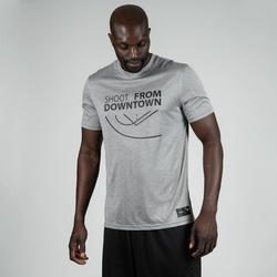 TS500 Basketball Jersey - Light Grey/Shoot