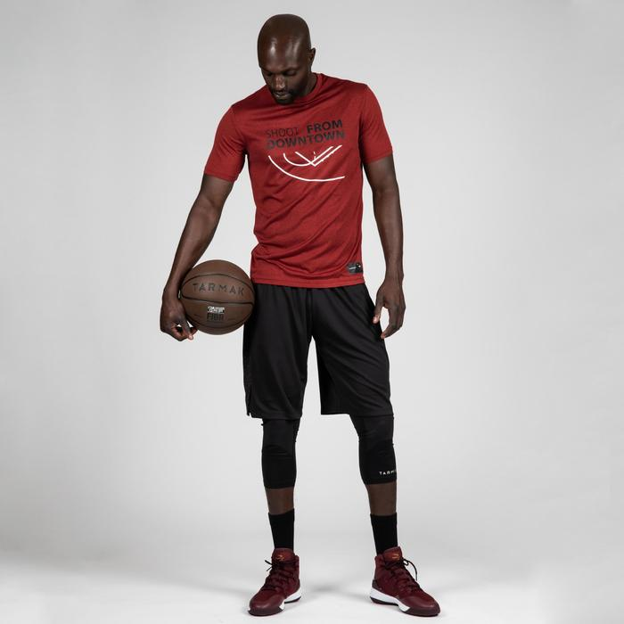 Basketbal T-shirt voor heren TS500 rood Shoot