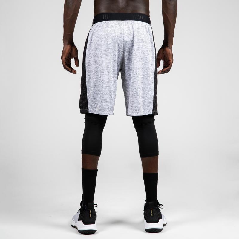 Men's Basketball Shorts SH500 - Grey