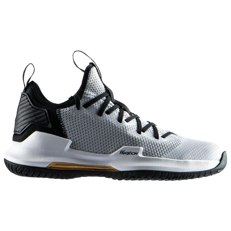 Erkek Basketbol Ayakkabısı - Gri - FAST500