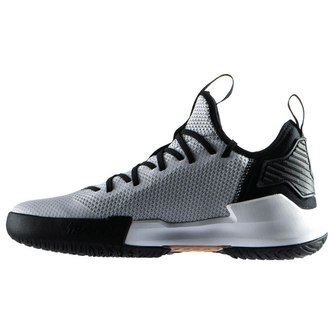 Men's Low-Rise Basketball Shoes Fast 500 - Grey