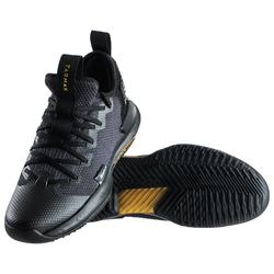 Men's Low-Rise Basketball Shoes Fast 500 - Black