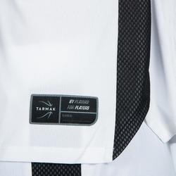 Basketbalshirt voor dames wit zwart T500