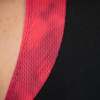 T500 Basketball Jersey Black/Pink - Women