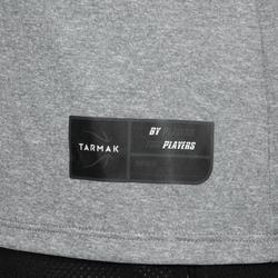 Camiseta Baloncesto Tarmak TS500 Mujer Manga Corta Gris
