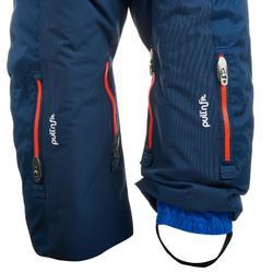 Combinaison pilote de ski / luge bébé XWARM PULL'N FIT bleue