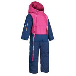 Fato de Ski X-warm Pull'n Fit Bebé Rosa e Azul