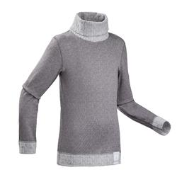 Kids' Base Layer Ski Top 2WARM - grey