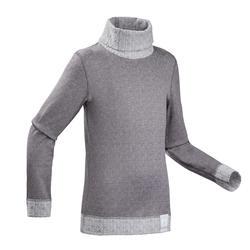 Skiunterhemd Funktionsshirt 2Warm Kinder grau