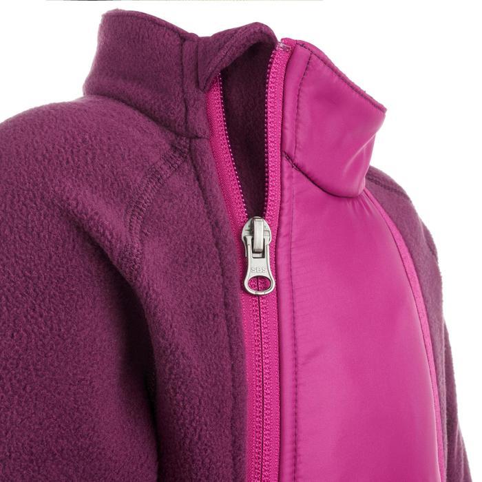 Fleece slee-/skipakje voor peuters Midwarm roze