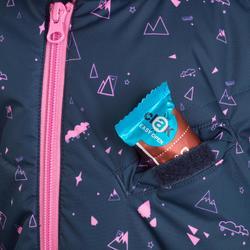 Slee-/skipakje voor peuters Warm met blauwe en roze print