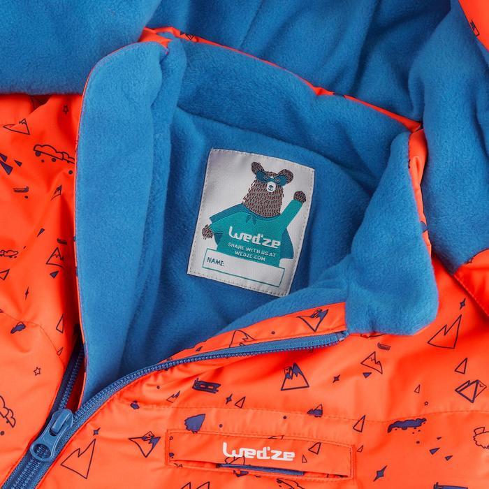Babies' Skiing/Sledging Ski Suit Warm - orange and blue print