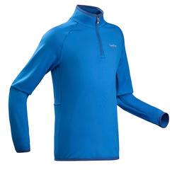 Skiunterhemd Funktionsshirt Freshwarm 1/2-Reißverschluss Kinder blau