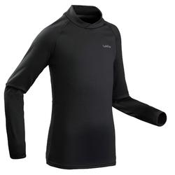 兒童滑雪內衣Freshwarm - 黑色