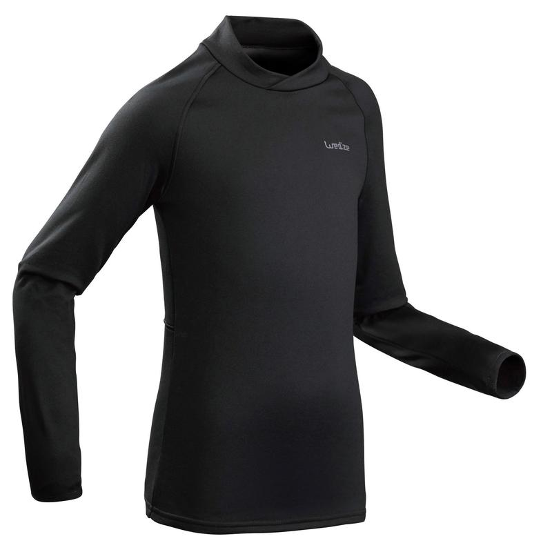 Thermoshirt kind | Thermokleding kind | Wedz Freshwarm | Zwart