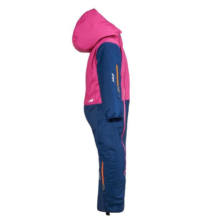 嬰幼兒滑雪/雪橇連身雪衣X-WARM PULL'N FIT - 紫色