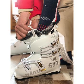 Skischoenen voor heren Heat 580 zwart