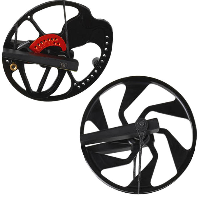 Set of pulleys and limbs for 500 Furtiv Left-handed Compound Bow
