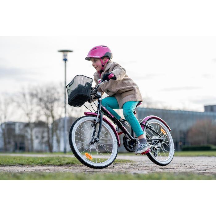 "20"" Original 500 Kid Hybrid Bike - Navy Blue"
