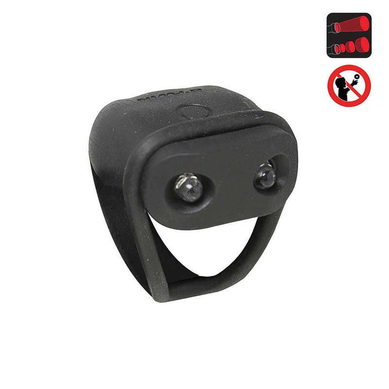 Rear LED Battery-Powered Bike Light SL 100 - Black