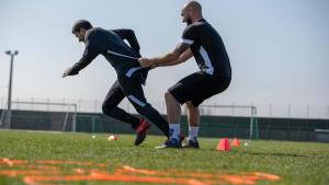 fysieke voetbaltraining en -testen