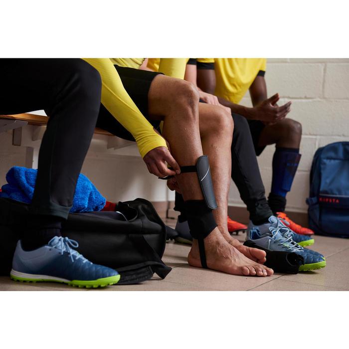 Scheenbeschermers voor voetbal voor kinderen F140 wit