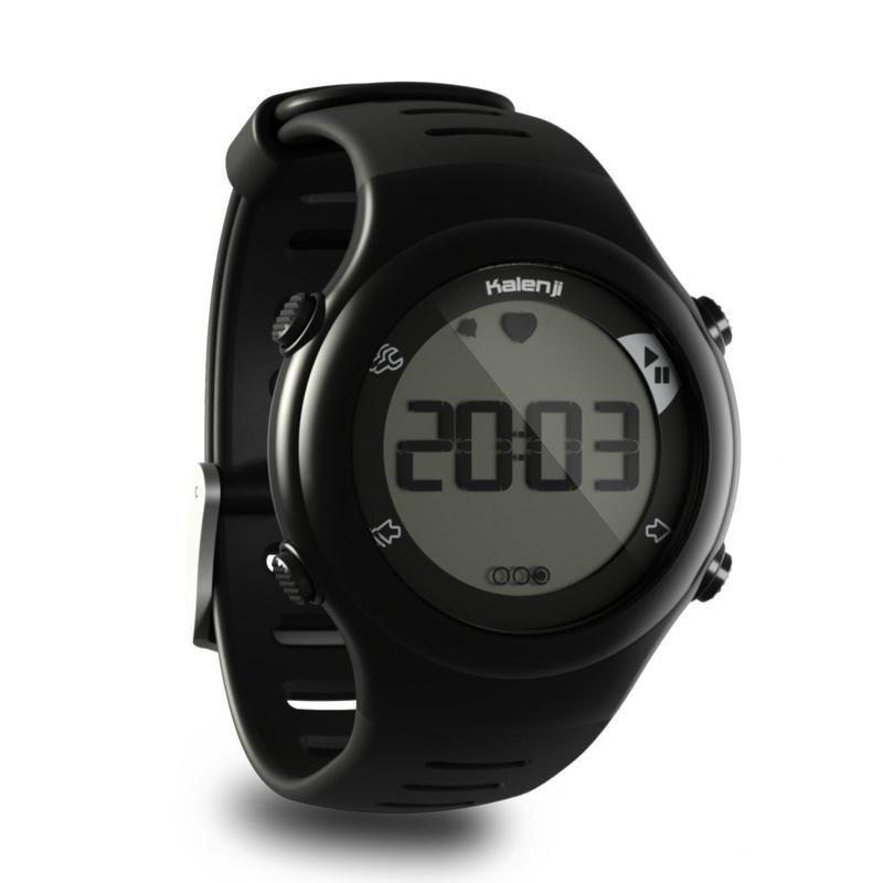 ONRHYTHM 110 runner's heart rate monitor watch black
