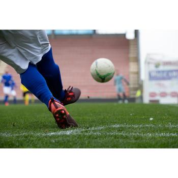 Chaussure de football adulte terrains secs Agility 900 Mesh MiD FG bordeaux